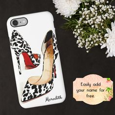 Christian Louboutin Phone Case High Heels iPhone by ChezLorraines