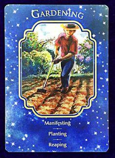 Gardening.  Manifesting Planting Reaping
