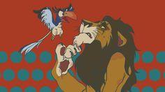 Lion King, Scar, Zazu