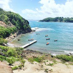 Tombolo, Ilet de Sainte Marie #Martinique #caraibes #antilles
