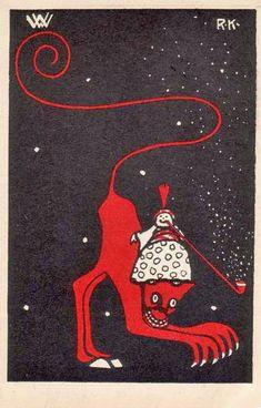 Postkarte no. 33 Ruldolf Kalvach- ART & ARTISTS: Wiener Werkstätte postcards – part 1