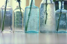 Decorate with Antique Glass Bottles » Lukas & Suzy International Wedding Photographers