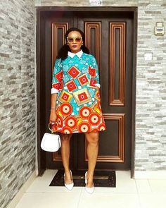 The complete pictures of latest ankara short gown styles of 2018 you've been searching for. These short ankara gown styles of 2018 are beautiful African Print Dresses, African Fashion Dresses, African Dress, Fashion Outfits, African Outfits, Ankara Fashion, Fashion Ideas, Ghana Fashion, Africa Fashion