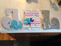 Modge Podge Letters for kids