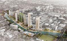 Parramatta City Riverfront Urban Renewal Strategy approved #McGregor Coxall #urbandesign #landscape #architecture
