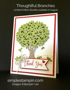 Thoughtful Branches Bundle - Susan Itell Stampinup