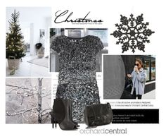 """Merry Christmas"" by emeliet ❤ liked on Polyvore featuring Sweet and Sour, AllSaints, Chanel, Schutz, women's clothing, women, female, woman, misses and juniors"