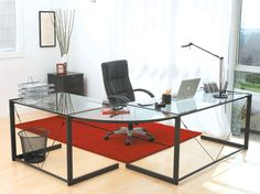 """The CEO Desk Group is a perfect replacement for the desk shown in our """"Case Study #2"""" room...It's only $539...chair doesn't come with it..If you want to save some money, you can get a nice fabric or leather office chair in black at any office supply co. go to designinternationalstaging.com and click on my Design Advice Blog, then go to """"Get The Look For Less Case Study #2"""" to view this project...Linda"""