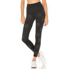 BEACH RIOT Harper Legging ($125) ❤ liked on Polyvore featuring pants, leggings, stretchy leggings, beaded leggings, embellished leggings, stretch trousers and stretch pants