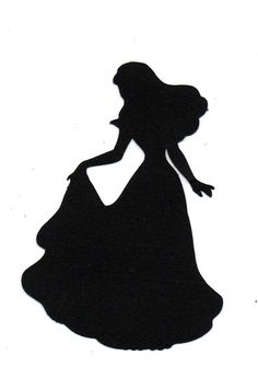 silhouette+sleeping+bueaty | Bride Silhouette die cut for WEDDING scrap by simplymadescrapbooks ...