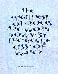Lettering - Art Lettering - Hand Lettering -Typography - Calligraphy - from Margaret Pasquill - Mighty Rocks