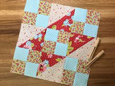 Learn how to construct the traditional Jacob's Ladder quilt block. When you mix traditional techniques with modern styles, you get something amazing!