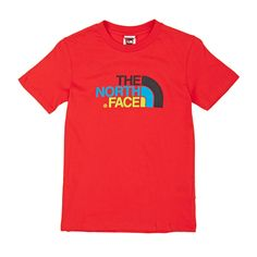 Boy's The North Face T-shirts - The North Face Easy T-shirt - Fiery Red