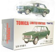 1/64 diecast collector: LV-116a - DATSUN SUNNY 100 Sports DX
