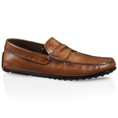 City Gommino Leather Loafers XXM0VH00010D9CC820 - 1