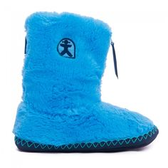 Buy Monroe TPR Ladies Classic Faux Fur Sky / Peacoat Navy Slipper Boots at Bedroom Athletics - Quality designer slippers for women in a range of colours & sizes. Womens Slippers, Slipper Boots, Love Blue, Blue Art, Royal Navy, Shades Of Blue, Faux Fur, Sky
