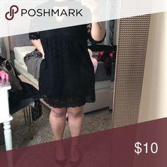 Lace black dress Lace black dress Xhilaration Dresses