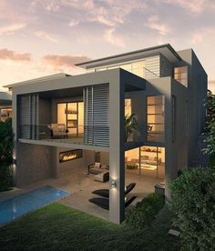 Modern House Plans U0026 House Designs In Modern Architecture.   Home Decor