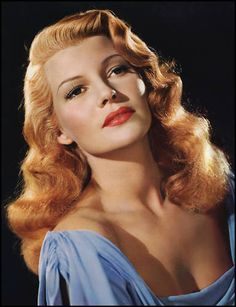"""Rita Hayworth ~ """"Sensitive, shy -- of course I was. The fun of acting is to become someone else."""" (IMDB)"""