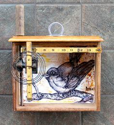 Image result for altered art shadow box
