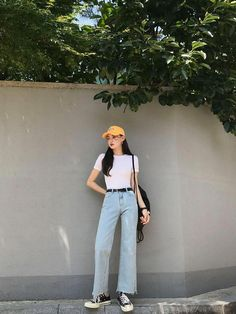 Gorgeous Clothes on korean fashion outfits 904 Source by diana_antonova outfits korean Korean Girl Fashion, Korean Fashion Trends, Korean Street Fashion, Korea Fashion, Asian Fashion, Look Fashion, Ulzzang Fashion Summer, Tokyo Fashion, Fashion Beauty
