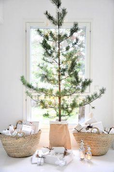 Modern, simple Christmas tree.