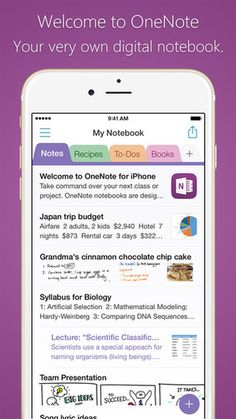 OneNote + 49 more Free Apps To Make You An Incredibly Productive Person Biology Interactive Notebook, Interactive Notebooks, Windows Phone, One Note Tips, One Note Microsoft, Microsoft Office, Iphone Notes, Apple Watch, Computer Help