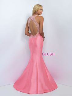 Blush Prom 11093 Coral Pink