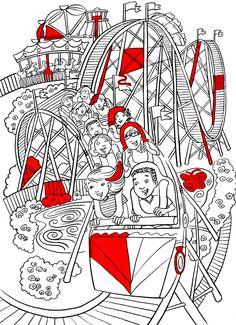 Roller Coaster Printables Amusement