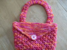 Accessories For Ladies Purse Bags In Pink by Ladydarinefinecrafts