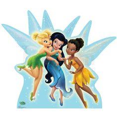Disney Fairies logo Iron On Transfers (Heat Transfer) N5532 $2.00-irononstickers.net