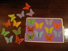 butterfly file folder activity