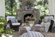 FRENCH COUNTRY 7/2015 COTTAGE: Out on the Patio~ Just One Thing