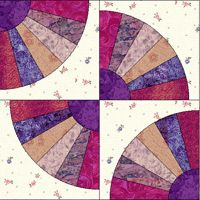 grandmother's fan quilt templates