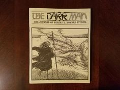 Book Haul/Spotlight – The Dark Man: The Journal of Robert E. Howard Studies #1