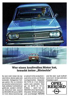 Opel Rekord B (1966) Motor