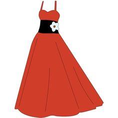 prom dress clip art scrapbooking clip art pinterest clip art rh pinterest com prom dress clipart images formal dress clipart free