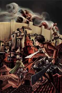 Attack on Titan (reworked project) by JessHough on DeviantArt