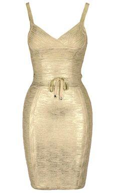 1879fc6e7c 20 Best Foil Dresses images in 2019 | Dresses, Gold bandage dress ...