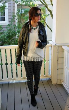 GOLDEN TOTE REMIX Featuring Thread and Supply Faux Leather Jacket | The Box Queen #goldentote