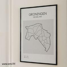Poster provincie Groningen door emi.frl Photo And Video, Poster, Instagram, Decor, House, Decoration, Home, Decorating, Homes