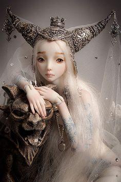Ball joint doll by Marina Bychkova