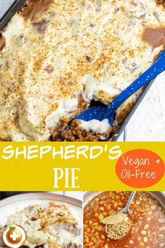 Whether you serve this lentil cottage pie for dinner or even for special occasions like Thanksgiving and Christmas, the whole family will love it. #lentilshepherdspie #dairyfreeshepherdspie #veganshepherdspie