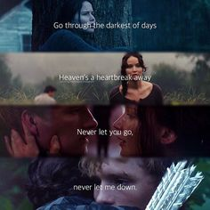 Okay I really am sick of the song let me love you, but the lyrics for it in this picture really blend with the movie and books!