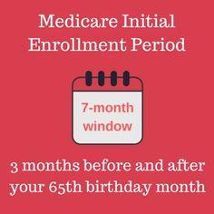 Medicare Enrollment Periods Retirement Advice Preparing For