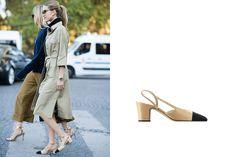 Chanel, Heels, Fashion, Heel, Moda, Fashion Styles, High Heel, Fashion Illustrations, Stiletto Heels
