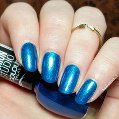 "[@astorcosmetics - ""370 Blue Lagoon""]  #nailart #astorcosmetics #bluelagoon"