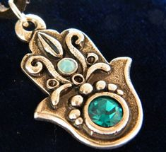 Chamsa+Hamsa+necklace++++++++evil++eye++by+kabbalahpower+on+Etsy,+$7.00