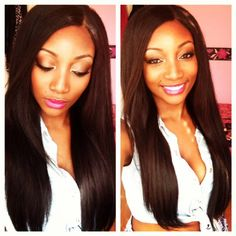 Hair Extensions- Long Brown Locks  Indian Hair  4Bundles + a closure - 2 x 20 + 18inches + 16 inches 14 inches closure