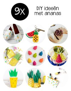 De leukste DIY ideeën met ananas